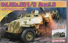 Dragon SdKfz 251/2 Ausf D w/Multiple Rocket Launcher (2 in 1) in 1/72  7604  ST