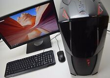 "COMPUTER GAMING PC i5 3.2GHz 8GB DDR3 500GB 2GB GT 730 19"" MONITOR WIN 7 WiFi R"