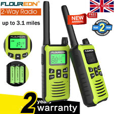 Walkie Talkies 16CH 2 Way Radios 3.1Miles Long Range PMR 446MHZ Kid Toy Xmasgift