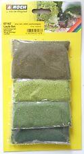 NOCH 07167 Laub-Set, mit oliv, hellgrün, mittelgrün, dunkelgrün, Neu