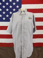 Mountain Dew Wearguard Shirt Mens Short Sleeve Light Gray Size 17