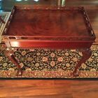 Vintage Councill craftsmen Ball & Claw Chippendale Mohogany Tea Table