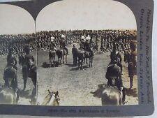 WW1 THE 48TH HIGHLANDERS OF TORONTO CANADA WWI KEYSTONE STEREOVIEW CARD B&W 2