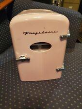 Pink Mini Fridge - Intertek Cooler and Heater - Retro 6 Pack - Dorm Office Home