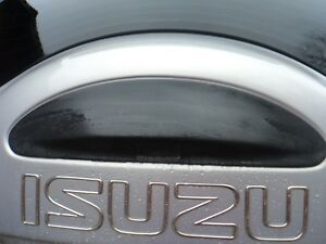 99-01 ISUZU VEHICROSS REAR DOOR UPPER CLADDING OEM