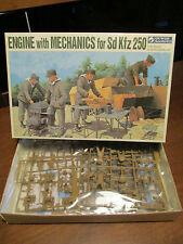 ENGINE WITH MECHANICS FOR SD KFZ 250 KIT MONTAGGIO GUNZE SANGYO SCALA 1:35