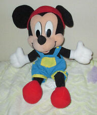 "Walt Disney Mickey Mouse Mattel 12"" Plush Doll"