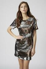 Topshop Sequin Short Sleeve Dresses for Women