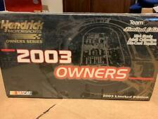 1/24 Team Caliber Owners 2003 #60 Haas Brian Vickers Nascar Diecast 1 of 1200