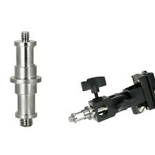 """1/4 """"und 3/8"""" Zapfen-Bolzen-Adapter männlich an Lampenstativ Tool NEU"""