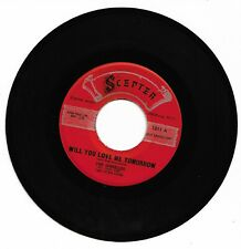 THE SHIRELLES - WILL YOU LOVE ME TOMORROW - SCEPTER - VG++ CONDITION