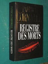 Registre des morts Patricia CORNWELL