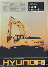 Equipment Brochure - Hyundai - Robex 450-3 Lc-3 - Excavator (E2577)