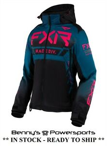 FXR RRX Women's Jacket Snowmobile Winter Snow Removeable Insulated Liner