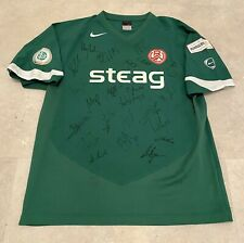 Matchworn Rot-Weiss Essen Trikot Spielertrikot Playershirt *RAR* signiert RWE