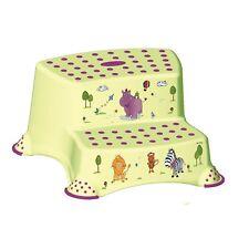 Okt Kids Zweistufig Hippo Tritthocker - Lime / Grün