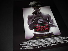 CURTIS JACKSON 50 Cent 2005 PROMO DISPLAY AD Get Rich or Die Tryin' mint cond