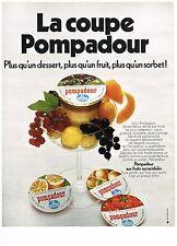 PUBLICITE  1970   VITHO  yaourts desserts POMPADOUR