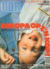 MAGAZINE OOR 1983 nr. 22 - BRIAN ENO/PETER VAN STRAATEN/THIN LIZZY/DER PLAN