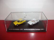 lot 2 matra bagheera 1975 courrèges atlas 1/87 HO