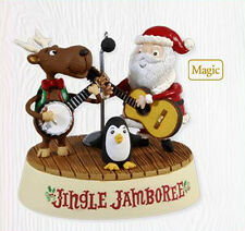 2010 Hallmark JINGLE JAMBOREE Musical MAGIC Ornament DUELING GUITARS BANJO