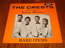 THE CREST FEATURING JOHNNY MAESTRO LP IMPORT - DENMARK