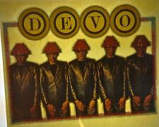 DEVO band energy dome vintage retro tshirt transfer print new, NOS
