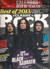 CLASSIC ROCK UK 192 January 2014 BLACK SABBATH + CALENDAR + Best o 2013 CD