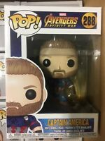 FUNKO POP MARVEL AVENGERS INFINITY WAR CAPT AMERICA #288 VINYL FIGURE - IN STOCK