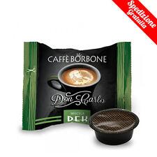 100 CAPSULE CAFFE' BORBONE MISCELA DEK DON CARLO A MODO MIO OR