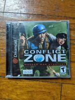 Conflict Zone: Modern War Strategy - Sega Dreamcast Complete and Tested