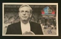 RON WOLF NFL HOF Green Bay Packers Auto Autographed Signed Custom 3x5 Index Card