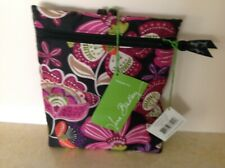 NWT $48 Vera Bradley Collapsible Tote  Bag  Pirouette Pink Travel Beach