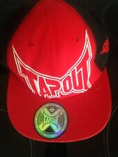 Tapout Red Official Baseball Hat 100% Cotton Preowned