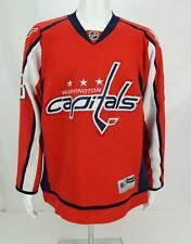 Reebok Alexander Semin #28 Men's NHL Hockey Washington Capitals  jersey Red L
