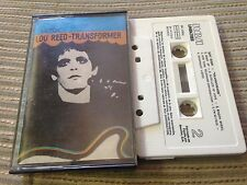 LOU REED SPANISH CASSETTE TAPE SPAIN TRANSFORFMERRCA LINEATRES 73