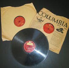 """3X Columbia 10"""" LP 78RPM 36466 35869 37188 Benny Goodman Harry James Dina Shore"""