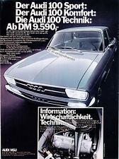 Audi-100-01-1970-Reklame-Werbung-genuine Advertising-nl-Versandhandel