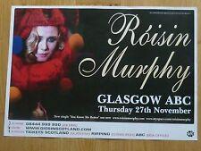 Roisin Murphy - Glasgow nov.2008 tour concert gig poster