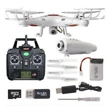 Gyro RC Quadcopter Drone with 2.0MP HD Camera and Remote Control (NEW)