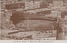 Fenway Park in Boston, Massachusetts - Home of the Boston Red Sox - 1989 View