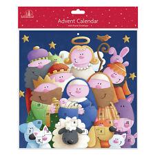 Tallon papel calendario de Adviento Navidad - 24 Ventanas-8462 Diversión Belén