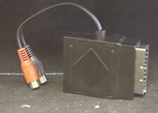 SCART Adaptador Scart Enchufe a Scart Enchufe Plu 2 X RCA Enchufes (12228)