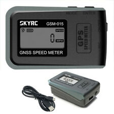 SkyRC SK-500024-01 Medidor de velocidad del sistema mundial de navegación por satélite GSM-015