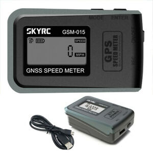 SkyRC SK-500024-01 Global Navigation Satellite System Speed Meter GSM-015