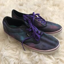 VANS Cosmic Galaxy Print Shoes Sneakers ~ Womens SIZE 5.5