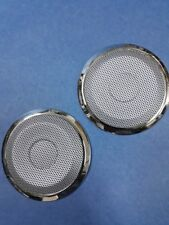 2 Stainless Steel Speaker Cover Net with Rim For 1991-1999 BMW E36 3-Series