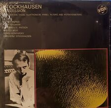 Stockhausen. Prozession. Vinyl LP