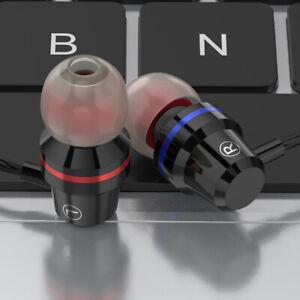 Super Bass Wired Headset Type C USB-C In-Ear Kopfhörer Stereo Ohrhörer Mic E4W7