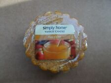 Yankee Candle Usa Deerfield Rare Hot Cider Wax Tart - Last One!